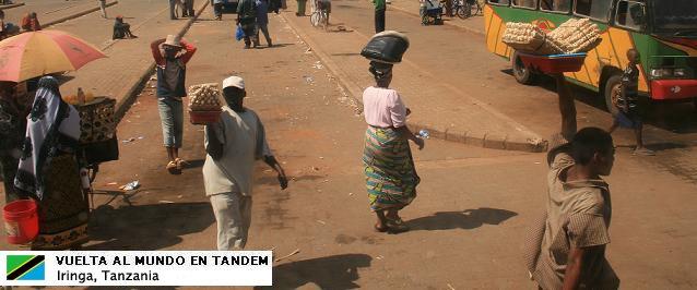 El mundo en tándem - Tanzania