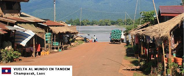 El mundo en tándem - Laos