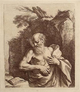Old Man Reading - St Jerome