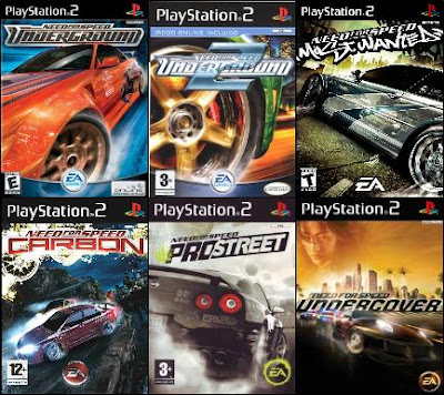 Nuestros Packs De Playstation 2 Need For Speed Pack Por Solo 120 Bsf