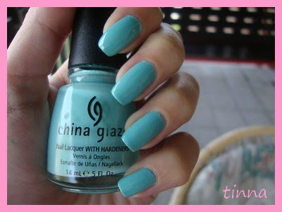 CHINA GLAZE - FOR AUDREY & BM
