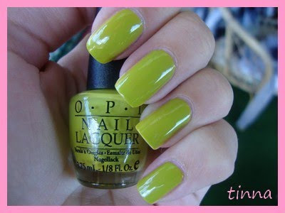 OPI - WHO THE SHREK ARE YOU? & BM