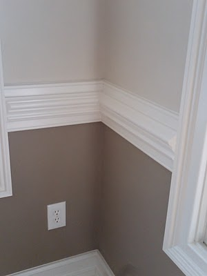 What to do? (with wainscoting and chair rails) - Color Zen