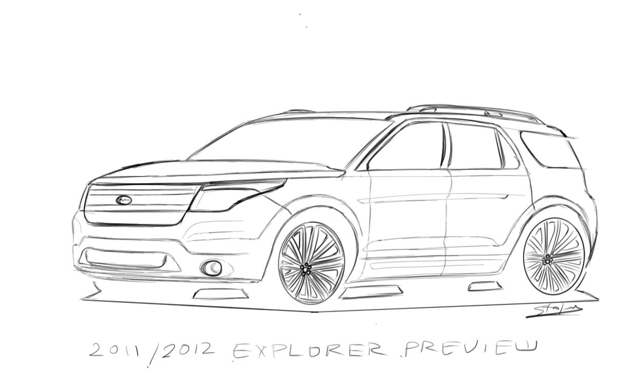 ford explorer custom
