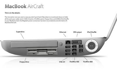 Bild von einem MacBook Air wenn es Dell gebaut hätte