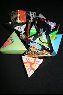 9dfa0c2b1acf Bijuteria Sostenible  Cajas de Regalo. Origami modular