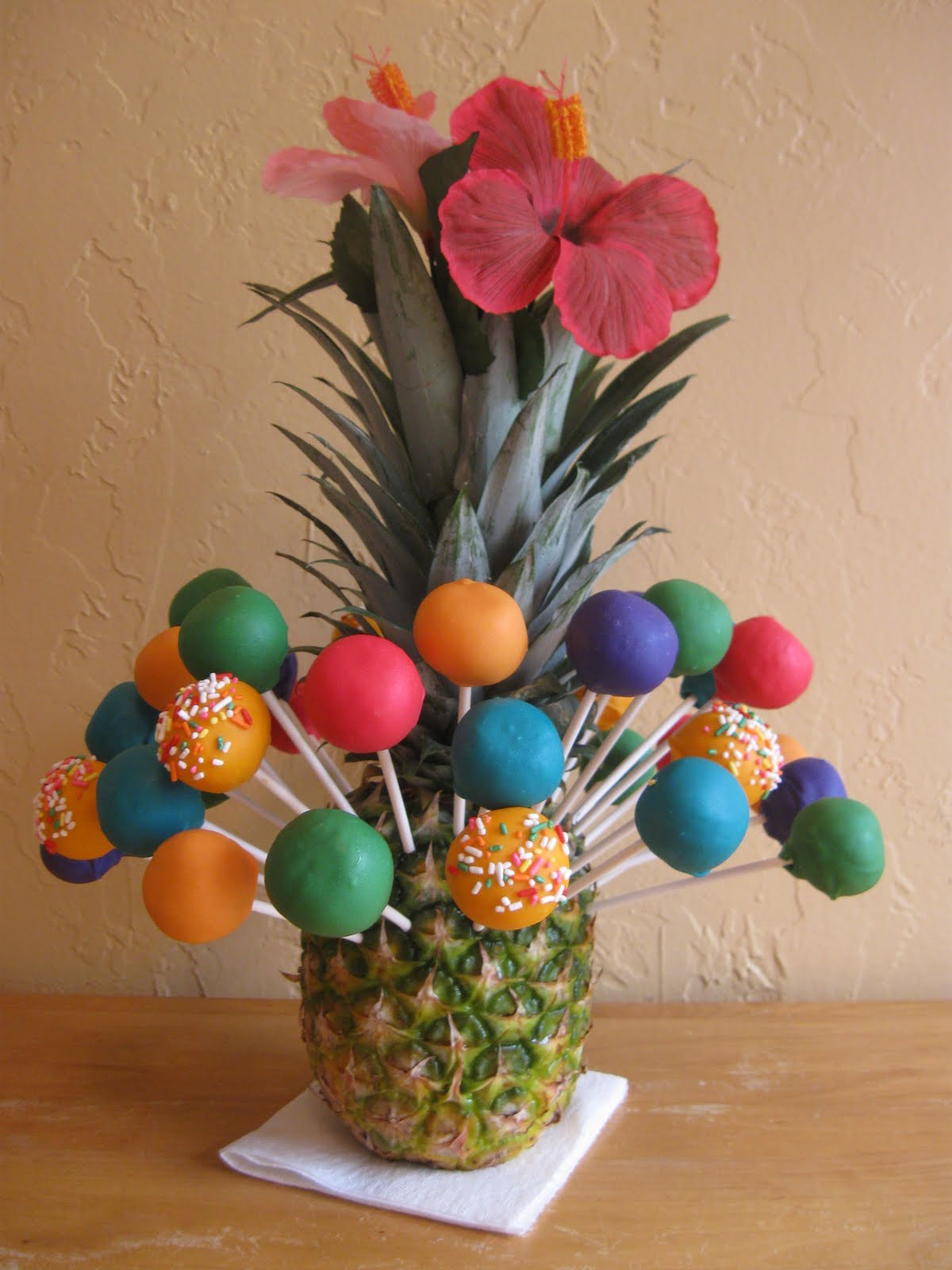 Tiki Cake Pops Cake Ideas And Designs