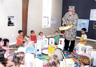 Drumming for Peace: Drumming at Blossom Hill Mennonite Church