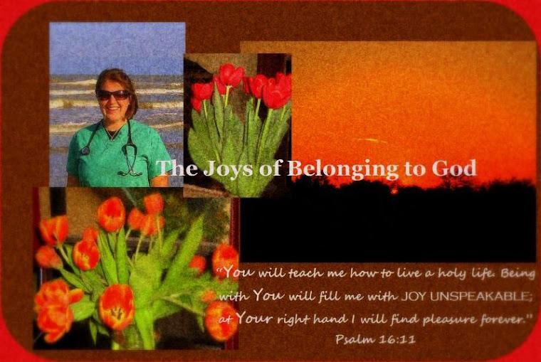 The Joys of Belonging to God