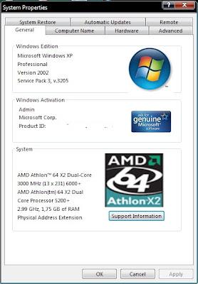 Windows XP Service Pack 3 RC 1