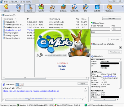 eMule 0.49b Beta2 No Ratio
