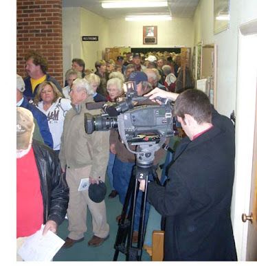 Photo Courtesy of SWAC GIrl : Hundreds pack in for a meeting opposing the property tax hikes in Augusta County, Virginia