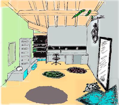 cmesgouts esquisse chambre de gar on. Black Bedroom Furniture Sets. Home Design Ideas