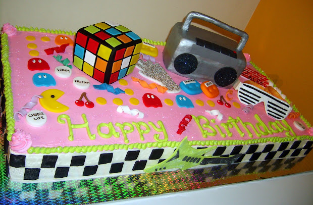 20 Eighties Cake Ideas Pictures And Ideas On Meta Networks