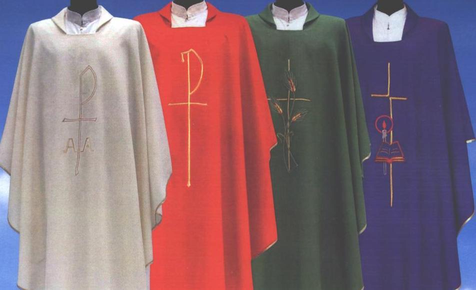 Putra Putri Altar Paroki Kalvari Busana Dan Peralatan Misa