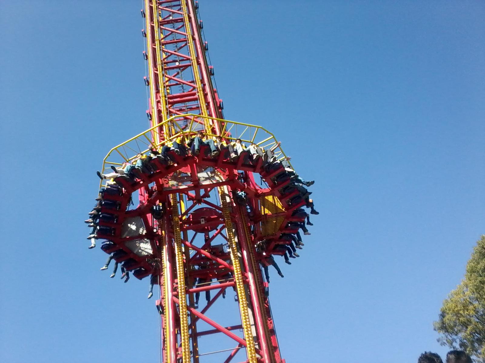 La Feria De Chapultepec Y La Fisica Coca Cola Power Tower