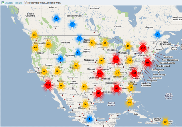 Data Analytics Blog Integrating Obiee And Google Maps With The