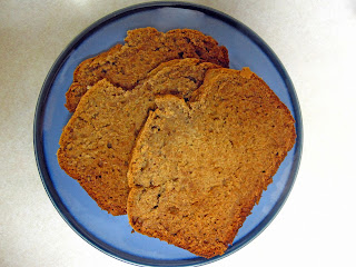 Morsels of Life - Easy Banana Bread - A crisp crust surrounds this moist banana bread with uncompromised banana flavor.
