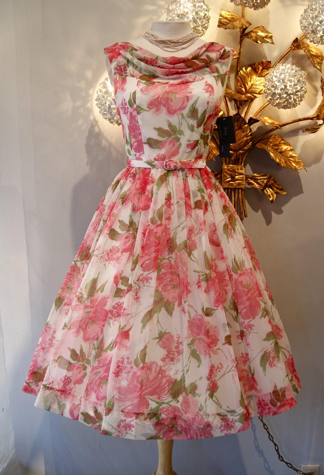 Vintage Tea Party Dresses 45
