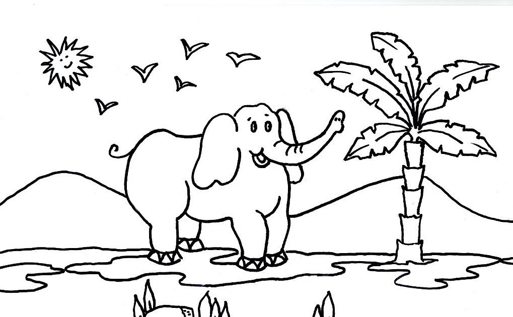 Dibujo Elefante Para Colorear E Imprimir: Dibujos Gratis Para Imprimir Y Colorear De Elefantes 圖片