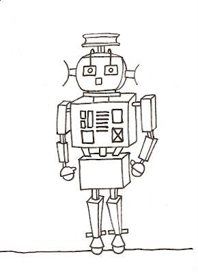 Diujos De Robots 2 圖片 上色