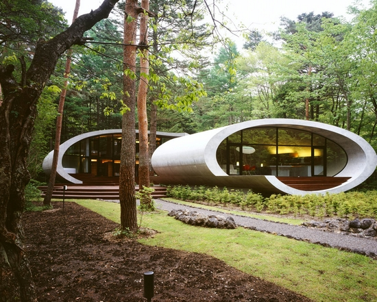 Shell House in a Forests [Nagano Prefecture, Japan]