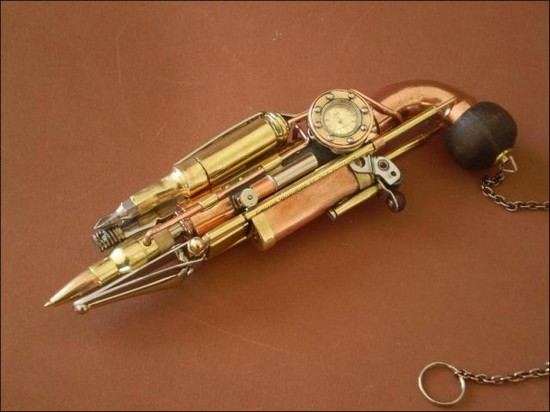 Steampunk Pen A Pen That Can Do It All Spicytec