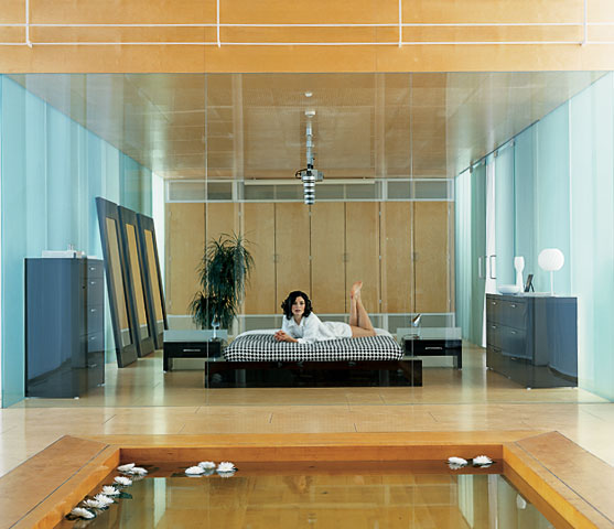 Home Decor 2012: Modern Japanese Bedroom Furnitures