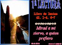 Resultado de imagen para Así dice el Señor: «Mirad a mi siervo, a quien sostengo; mi elegido