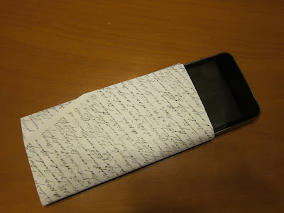 iPhone origami case