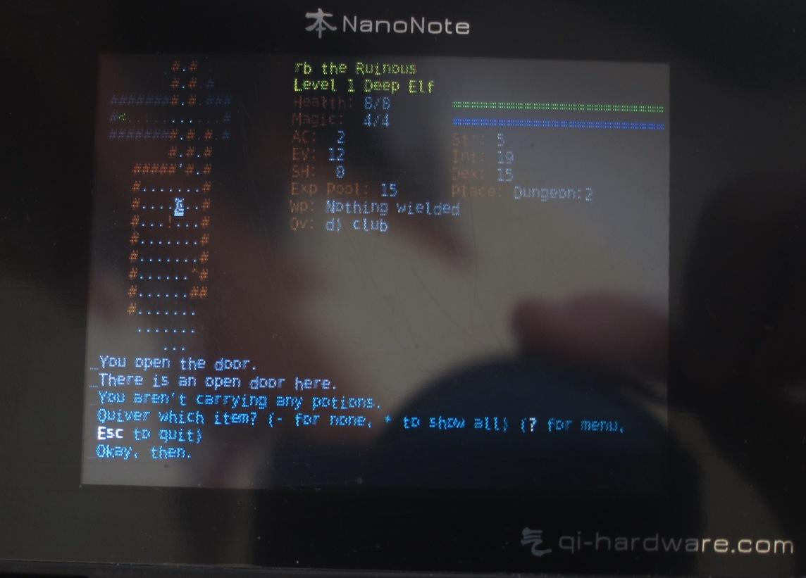 Installing Debian on my Ben Nanonote