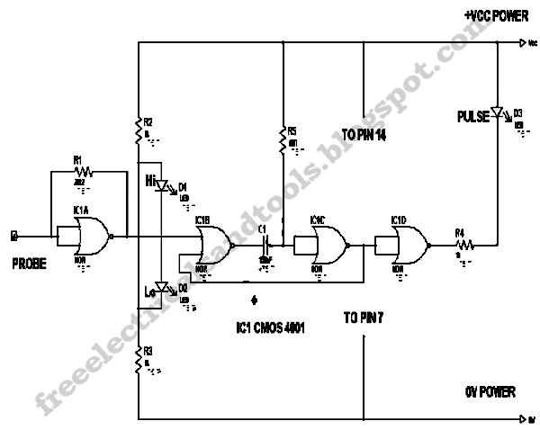 pulsing led circuit diagram