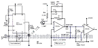 Circuit panel: Infrared Motion Detector Circuit Using LM11458