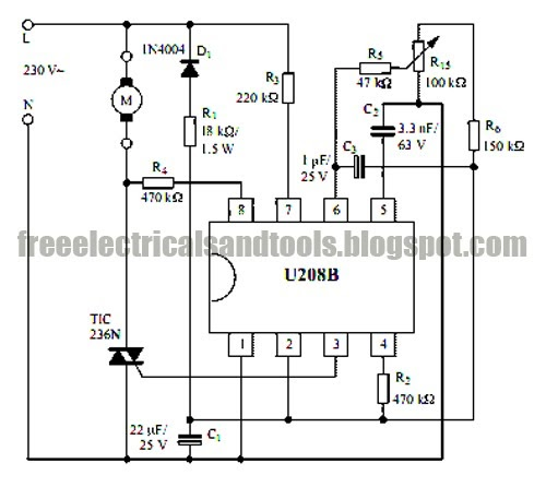 Ac Phase Control Circuit