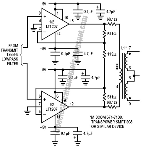 Wiring Pre Circuit diagram: Driving Capacitive Load Circuit