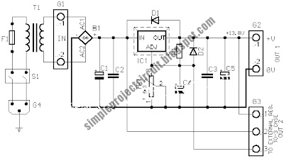 Simple Project Circuit: November 2009