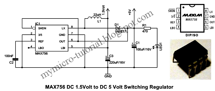 Free Microcontroller and Interface Programming: DC to DC