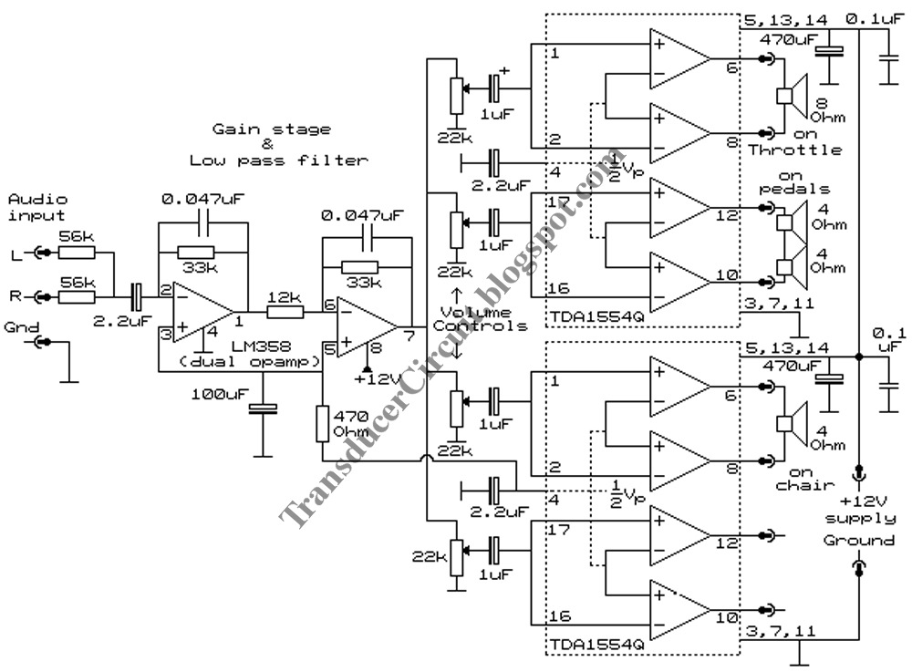 January 2011 Transducer Circuit Diagram