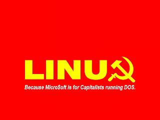 tux linux communist