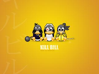 tux kill bill