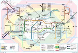 mapa de londres dividido por zonas Easy London Blog: Londres é dividida por Zonas mapa de londres dividido por zonas