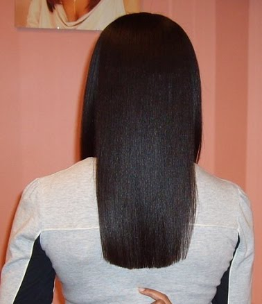 coarse hair long cut 7""