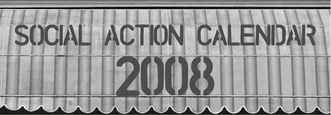 Social Action Calendar 2008