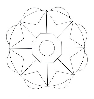 Tre Semplici Mandala Da Colorare Con Colori A Piac