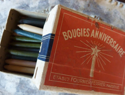 bougies anciennes