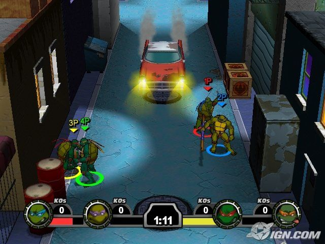 Confira 5 jogos memoráveis das antigas para PC TMNT Mutant Melee   2