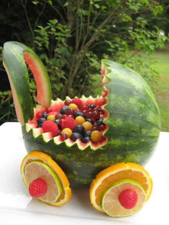 The Happy Raw Kitchen: Watermelon Baby Buggy: