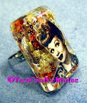 Lucille Ball Resin Ring