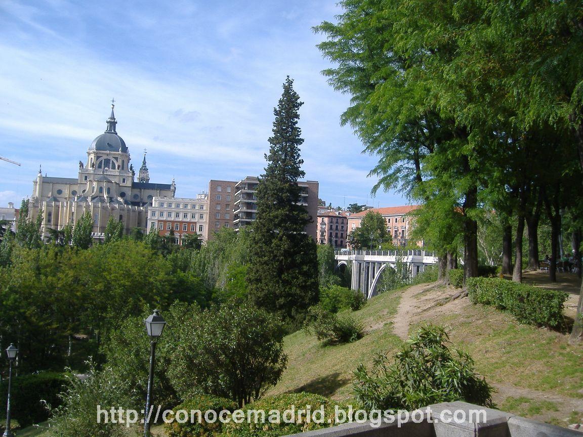 Jardines De Madrid Las Vistillas