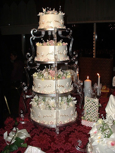Lorene S Blog Boyd Wedding Cake 300x273 Walmart Wedding